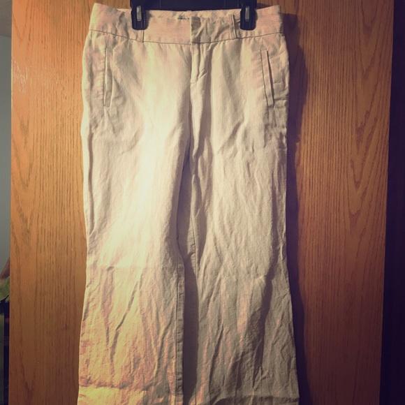 Banana Republic Pants - Banana Republic Linen Trousers